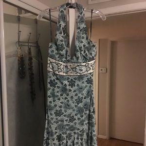 Nicole Miller size 12 halter dress NWT.